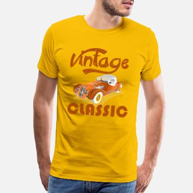 Cadillac Vintage Classic - speedway old school old-timer - Men's Premium T-Shirt