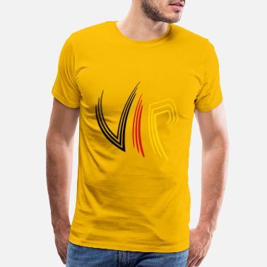 600a1417f Digital Design Digital fractured very important person design coo - Men's  Premium T-Shirt