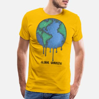 Warming Earth Day Stop Global Warming - Men's Premium T-Shirt