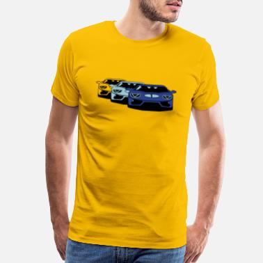 Sports Car Race car sports car art - Men's Premium T-Shirt