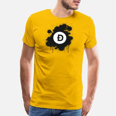 Doge Christmas Doge Coin - Men's Premium T-Shirt
