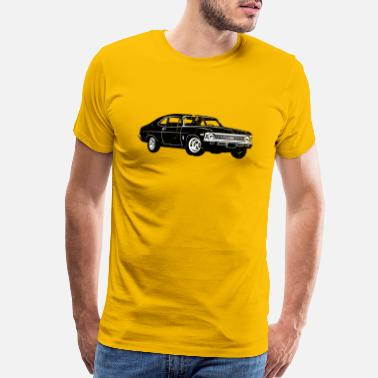 Automotive 1968 Chevrolet Nova SS 396 - Men's Premium T-Shirt