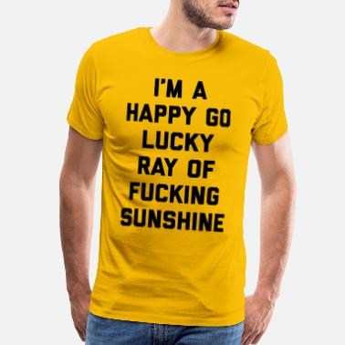 Spring Ray Of Sunshine Funny Quote - Men's Premium T-Shirt