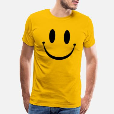 Face Smiley Face - Men's Premium T-Shirt