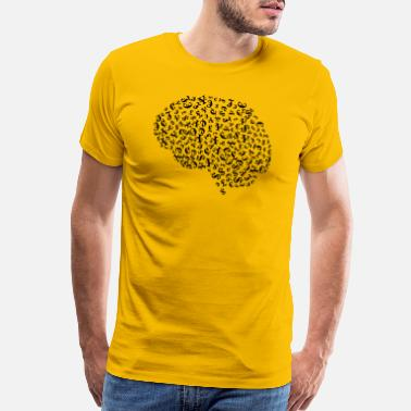 Greedy Money Greedy Brain - Men's Premium T-Shirt
