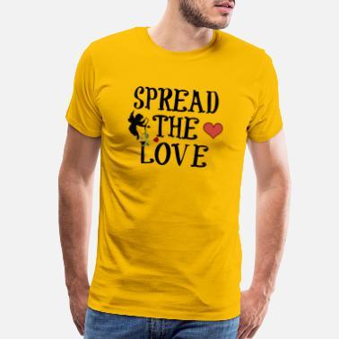 51db8971 Spread The Love SPREAD THE LOVE - Men's Premium T-Shirt