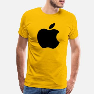 Apple Logo Apple_logo_black-svg - Men's Premium T-Shirt