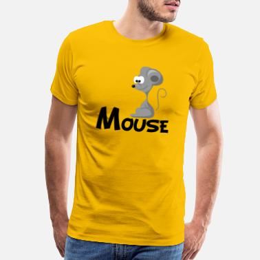 Cartoon Mouse Cartoon Mouse - Men's Premium T-Shirt