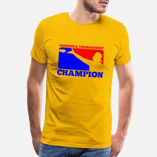 068f71332 Cornhole Tournament Champion Men's Premium T-Shirt | Spreadshirt