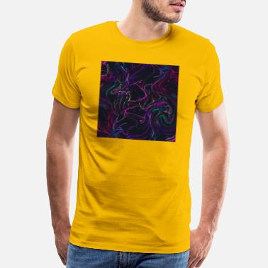 Paint Gun Abstract Paint Mix 15 - Men's Premium T-Shirt