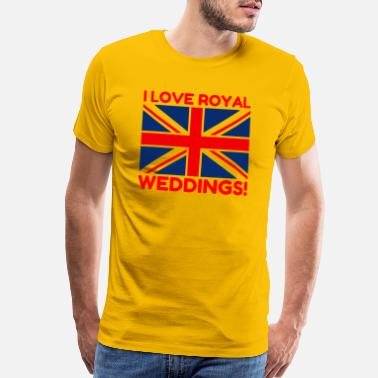 Royal Wedding Love Royal Weddings - Men's Premium T-Shirt