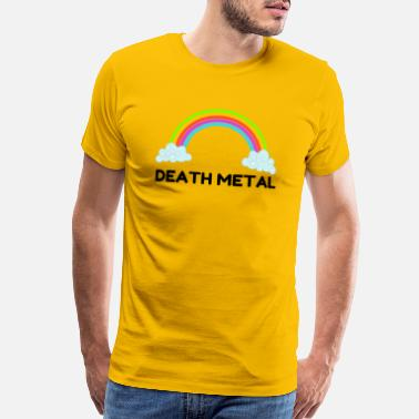 Death Metal Rainbow Death Metal Rainbow - Men's Premium T-Shirt