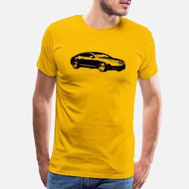 Turbo car16 - Men's Premium T-Shirt
