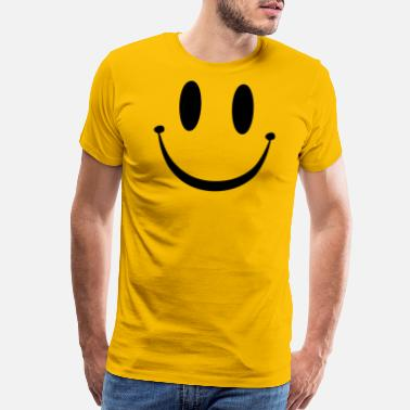 Rave Smiley Face - Men's Premium T-Shirt