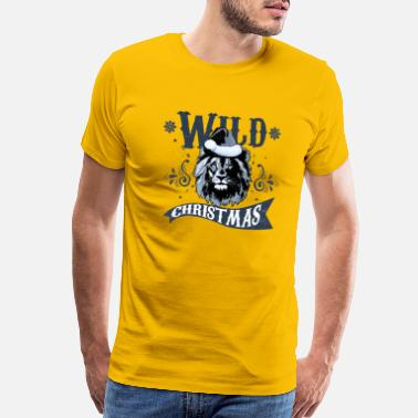 Hollie wild christmas - Men's Premium T-Shirt