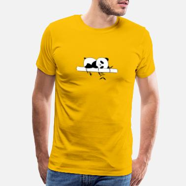 Sleeping Panda Panda sleep - Men's Premium T-Shirt