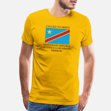 Congo Democratic Republic of Congo Lubumbashi Mission - Men's Premium T-Shirt