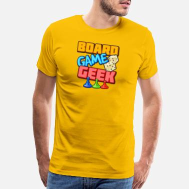 Game Board Game Geek - Men's Premium T-Shirt