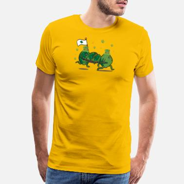 Patrick Day Funny St Patricks Day Leprechaun Party gift Paddy - Men's Premium T-Shirt