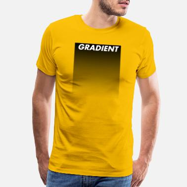 Gradient Gradient White - Men's Premium T-Shirt