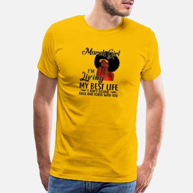 e3bccf9f1 March Girl Im Living My Best Life I Aint Going Back And Forth With You  Happy Birthday To Me Shirt Handmade Products