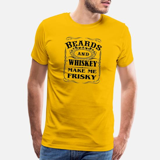 5a6dc67a1 Front. Front. Back. Back. Design. Front. Front. Back. Design. Front. Front.  Back. Back. Abc Shirt T-Shirts - Beards and Whiskey Make Me Frisky Funny ...