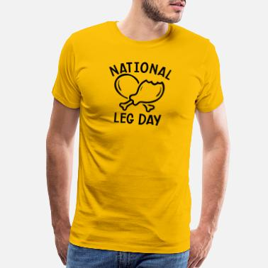 Diner NATIONAL LEG DAY - Men's Premium T-Shirt