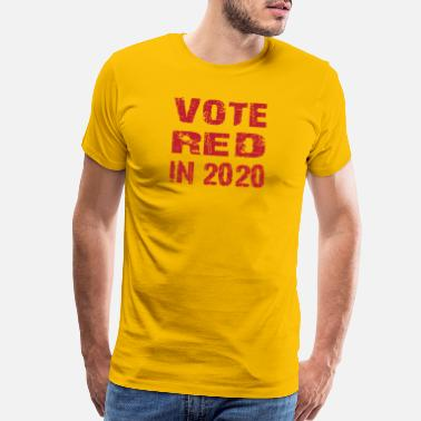 Levy Vote red in 2020 t-shirt - Men's Premium T-Shirt