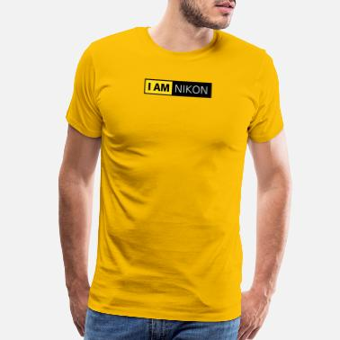 Photographer Nikon Nikon Camera I Am Nikon - Men's Premium T-Shirt