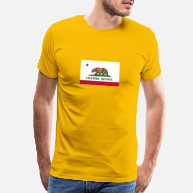 California Republic Flag California Republic Flag - Men's Premium T-Shirt