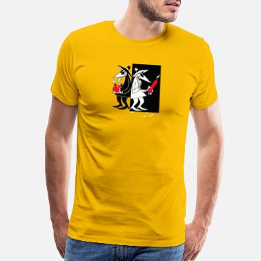 Spy Spy Vs Spy Mad - Men's Premium T-Shirt