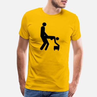 Position Sex positions - Men's Premium T-Shirt