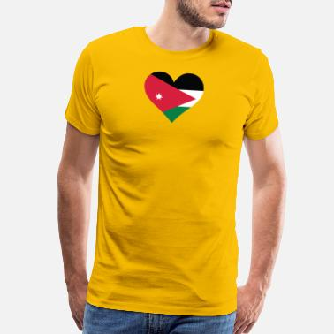 Jordan The Lion A Heart For Jordan - Men's Premium T-Shirt