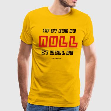 Null (Light) - Men's Premium T-Shirt