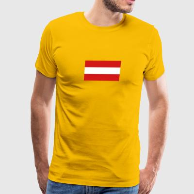 National Flag Of Austria - Men's Premium T-Shirt
