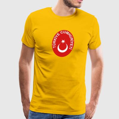 National Emblem Of Turkey - Men's Premium T-Shirt