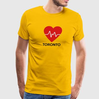 Heart Toronto - Men's Premium T-Shirt