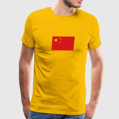 National Flag Of China - Men's Premium T-Shirt