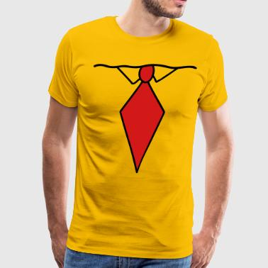 Tie Bob - Men's Premium T-Shirt