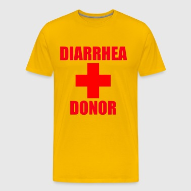 Diarrhea Donor - Men's Premium T-Shirt