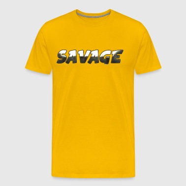 Savage Metal - Men's Premium T-Shirt