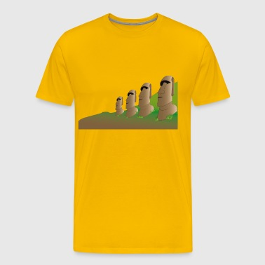 Easter Island - Men's Premium T-Shirt