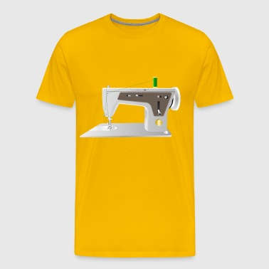 Sewing Machine - Men's Premium T-Shirt