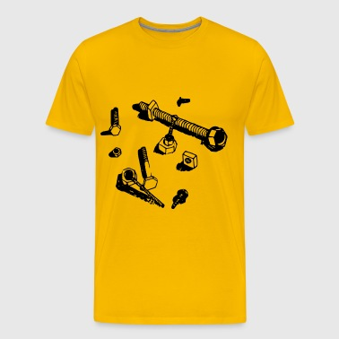 Nuts and Bolts - Men's Premium T-Shirt
