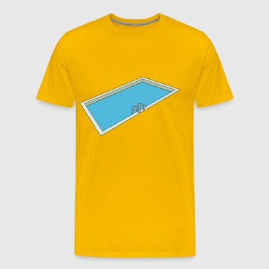 Swimming pool - Men's Premium T-Shirt