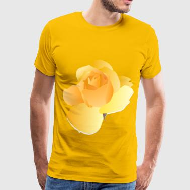 Yellow Rose - Men's Premium T-Shirt