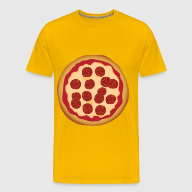 Pepperoni Pizza - Men's Premium T-Shirt