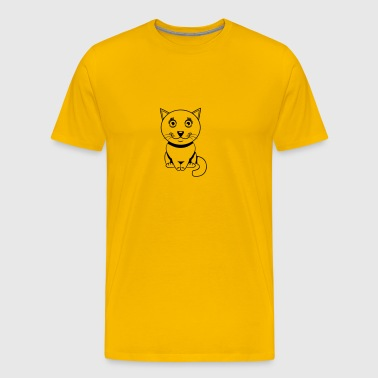 Cat baby cute cute - Men's Premium T-Shirt