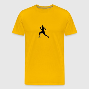running man - Men's Premium T-Shirt