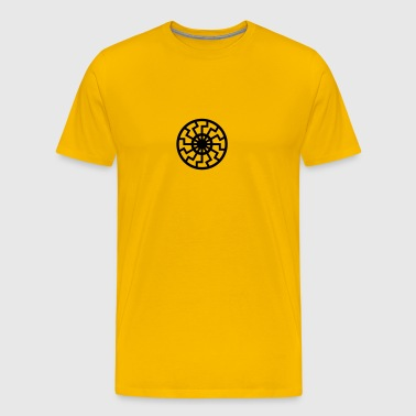 sun wheel - Men's Premium T-Shirt